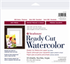 STRATHMORE 140308 STRATHMORE 8X10 HP READY CUT WATERCOLOR SHEETS