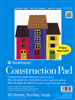 STRATHMORE 273090 STRATHMORE KIDS CONSTRUCTION PAPER PAD - 9X12